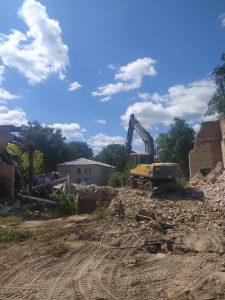 У Чорнухах демонтували будинок культури